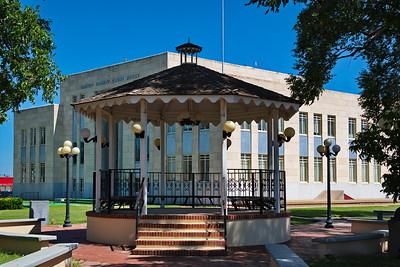 Castro County Courthouse; Gazebo