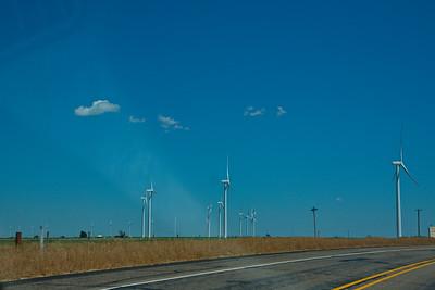 Wind Turbines in Castro County