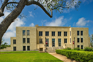 Chambers County Courthouse;  Anahuac,, Texas