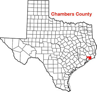 Chambers County Courthouse;  Anahuac,, Texas