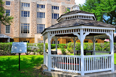 Gazebo on the Courthouse Grounds