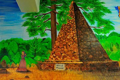 Second Floor Mural History of Cherokee County