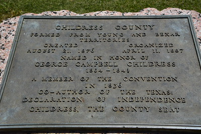 Historical Marker Childress County