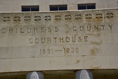 County Name on Front of Courthouse