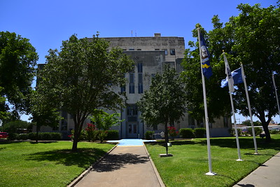 Rear Entrance to the Courthouse