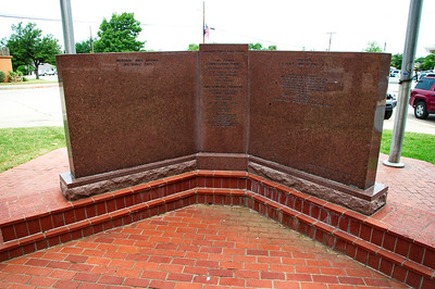 Veterans Memorial on the Courthouse Grounds