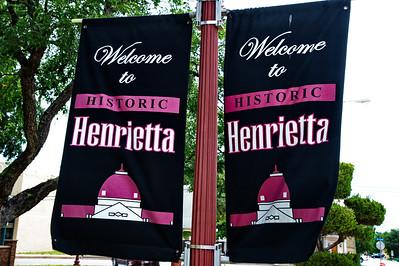 Henrietta Welcome Signs