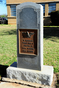 World War II Company 8, 142nd Infantry, 36th Division Memorial
