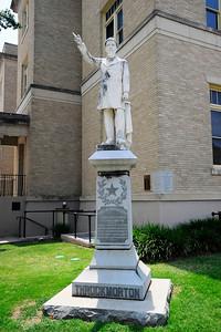 Statue of Throckmorton
