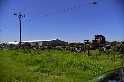Tractor Scrap Yard
