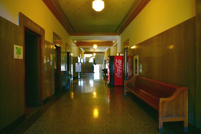Courthouse Interior Hallway