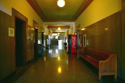 Courthouse Interior Hallway