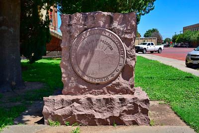 Anniversary Plaque Collingsworth County