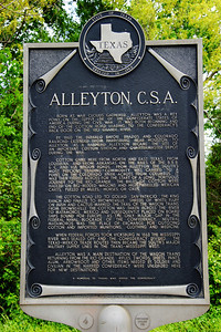 My German ancestors settled here in Alleyton, TX near Columbus, TX.