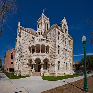 Comal County Courthouse, New Braunfels, Texas