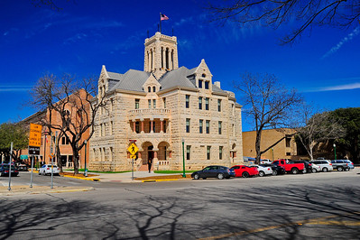Comal County Courthouse, New Braunfels, Texas Restored in 2013
