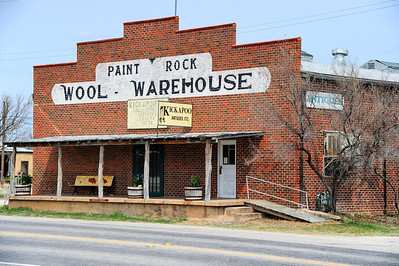 Paint Rock, Texas Wool Warehouse