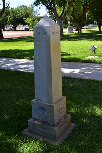 Donley County Courthouse Confederate Memorial