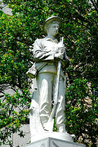 Confederate Solder Statue Top