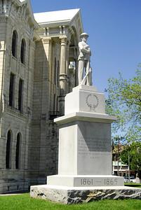 Hill County Courthouse, Hillsboro, Texas Confederate Memorial