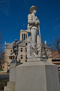 Confederate Soldiers Monument, Comal County Courthouse