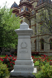 Confederate Soldier Monument, Caldwell County Courthouse Square