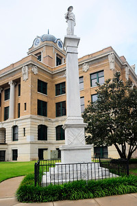 Confederate Soldier Monument, Cooke County Courthouse