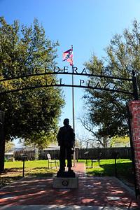 Grimes County Confederate Plaza