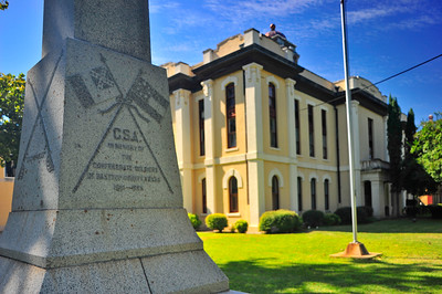 Confederate Soldiers Monument;  Bastrop County Courthouse Grounds