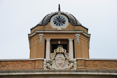 Cooke County Courthouse, Gainesville, Texas Clock tower and art deco exterior
