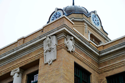 Cooke County Courthouse, Gainesville, Texas Art Deco