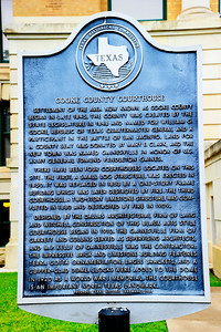 Cooke County Courthouse, Gainesville, Texas Historical marker