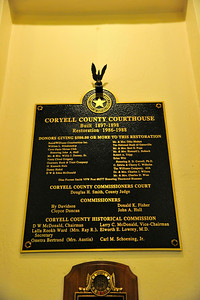 Coryell County Courthouse, Gatesville, Texas