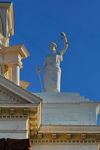 Lady Justice Coryell County Courthouse, Gatesville, Texas