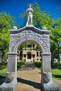 Confederate Soldiers Monument, Denton County Courthouse