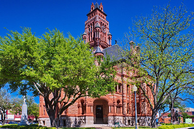 One of my all time favorite courthouses designed by J. Riely Gordon  Ellis County Courthouse:  Waxahachie, Texas