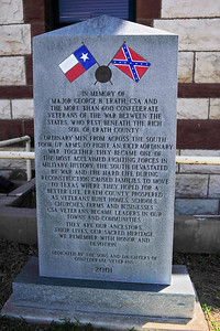 Confederate Soldiers Monument, Erath County Courthouse