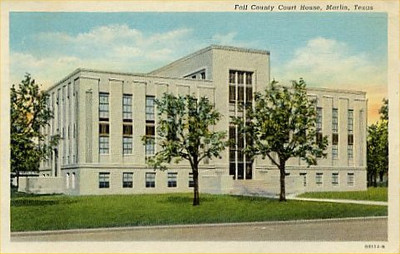 Falls County Courthouse, Marlin, Texas