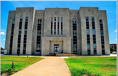 Fannin County Courthouse, Bonham, Texas