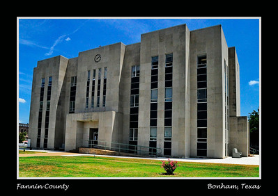 Fannin County Courthouse, Bonham, Texas