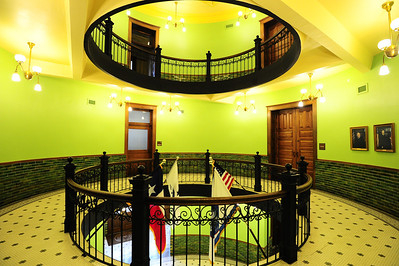 Fort Bend County Courthouse Interior of the courthouse 2nd Floor
