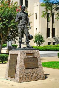 Gregg County Courthouse, Longview, TX Veterans Memorial