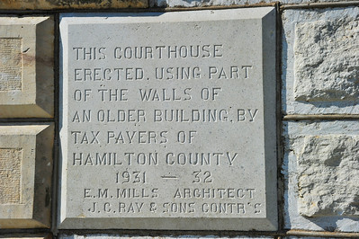 Hamilton County Courthouse, Hamilton, Texas