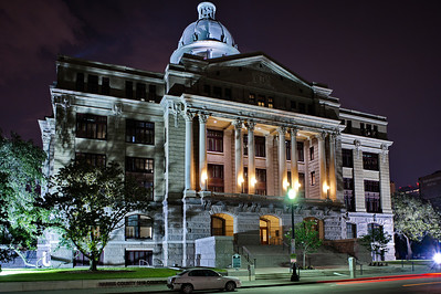 Night Photo of the Courthouse