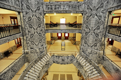 Harris County 1910 Courthouse Grand Staircase