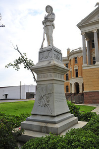 Harrison County Courthouse Confederate Soldier's Memorial