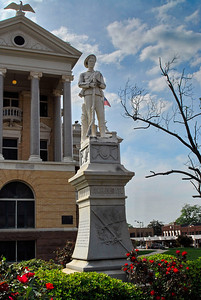 Harrison County Courthouse, Marshall, Texas Confederate Soldier's Memorial