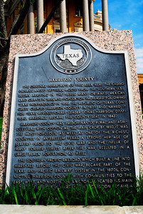 Harrison County Courthouse, Marshall, Texas Texas Historical Commission Marker