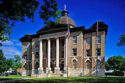 Hays County Courthouse, San Marcos, Texas