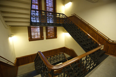 Hood County Courthouse, Granbury, Texas  Stairwell